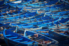 Pescherecci in Essaouira, Marocco Immagini Stock