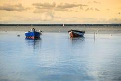 Pescherecci, Mar Baltico, baia del disco Immagini Stock