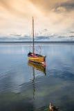 Pescherecci, Mar Baltico, baia del disco Fotografia Stock