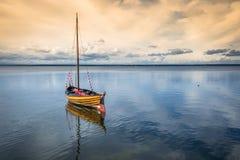 Pescherecci, Mar Baltico, baia del disco Fotografia Stock Libera da Diritti