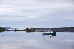 Pescherecci nelle isole di Lahave, Nova Scotia Fotografia Stock Libera da Diritti