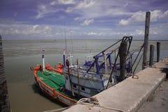 Peschereccio al chonburi Fotografie Stock Libere da Diritti