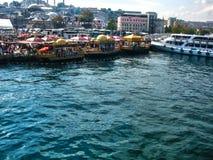 Peschereccio a Costantinopoli immagini stock