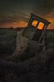 Peschereccio di decomposizione Fotografie Stock