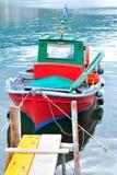 Peschereccio greco tradizionale, isola di Thassos, Grecia Immagine Stock Libera da Diritti