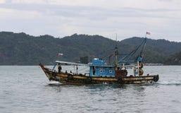 Peschereccio in Malesia Immagini Stock Libere da Diritti