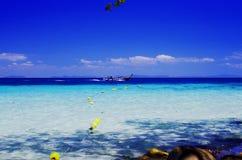 Peschereccio nel mare Fotografie Stock Libere da Diritti
