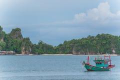 Peschereccio sul golfo del Siam Fotografia Stock