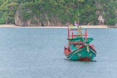 Peschereccio sul golfo del Siam Fotografie Stock