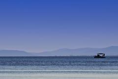 Peschereccio sul sea Immagine Stock