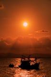 Peschereccio tailandese Immagine Stock