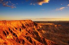Peschi il canyon del fiume Immagine Stock Libera da Diritti