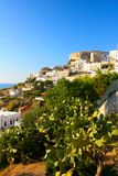 Peschici in Apulia, Italy stock photo