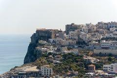 Peschici (Gargano, Apulia, Italia) Foto de archivo