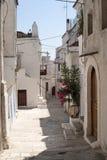 Peschici (Gargano, Puglia, Italia) Foto de archivo libre de regalías