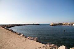 Peschici-Hafen Italien Lizenzfreie Stockfotografie