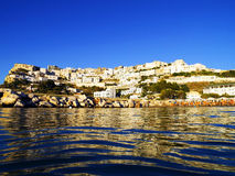 Peschici - Italy. Pretty beach town on the south east coast of Italy Stock Photography