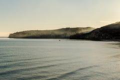 Peschici San Nicola Bay Morning imagen de archivo