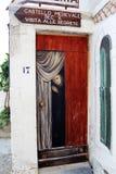 Peschici street art royalty free stock image