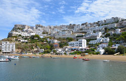 Peschici town in Gargano, Italy Royalty Free Stock Photo