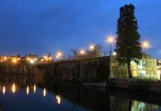 Τοίχοι πόλεων Peschiera del Garda Στοκ φωτογραφίες με δικαίωμα ελεύθερης χρήσης