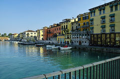 Peschiera del Garda, Garda Lake district, Italy Royalty Free Stock Photos