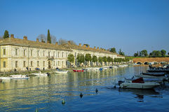 Peschiera del Garda, Garda Lake district, Italy Stock Photos