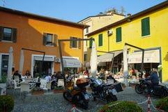 Peschiera del Garda, Lago di Garda, Italia Fotografia Stock