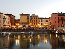 Peschiera del Garda, Lake Garda, Italy Stock Photo