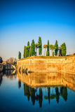 Peschiera del Garda, Lombardy, Italy Stock Photo