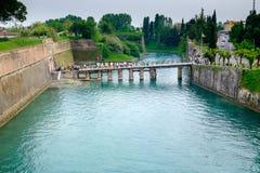 Peschiera Del Garda | Sztuka most obraz stock
