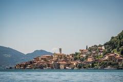 Peschiera Maraglio Village, Iseo lake Stock Images