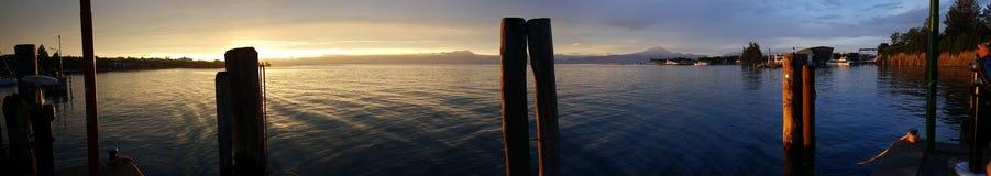 Peschiera Panoramica Lizenzfreie Stockbilder
