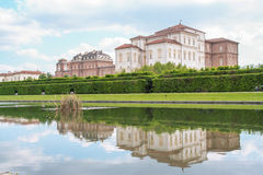 Peschiera at Venaria palace Royalty Free Stock Photography