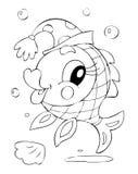 Pesci royalty illustrazione gratis