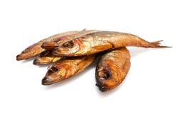 Pesci affumicati Fotografia Stock Libera da Diritti