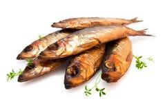 Pesci affumicati Fotografia Stock