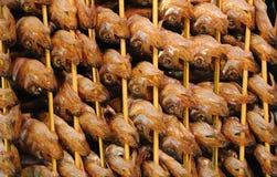 Pesci arrostiti col barbecue Immagini Stock