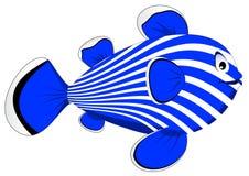 Pesci blu Fotografie Stock