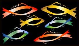 Pesci colorati illustrazione di stock