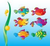 Pesci del fumetto royalty illustrazione gratis