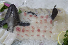 Pesci crudi coreani Immagine Stock