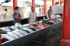 Pesci da vendere a Hong Kong Immagine Stock Libera da Diritti