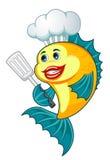 Pesci del cuoco Fotografia Stock