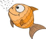 Pesci del fumetto Immagine Stock