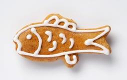 Pesci del pan di zenzero Immagine Stock