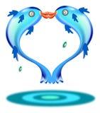 Pesci delle coppie Immagini Stock