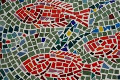 Pesci delle mattonelle Fotografia Stock Libera da Diritti