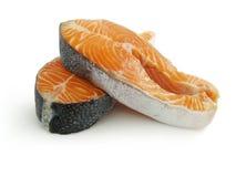 Pesci di colore rosso della bistecca Immagini Stock Libere da Diritti