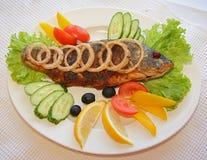 Pesci di Fryed Fotografia Stock Libera da Diritti